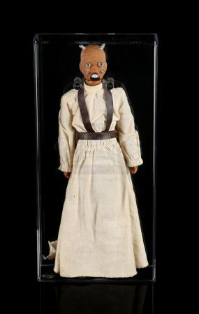 Lot # 72 - Lili Ledy Tusken Raider Large Size Action Figure AFA 80