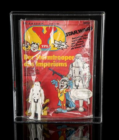 Lot # 110 - YPS Comic With Hoth Stormtrooper UKG 85 - Sealed