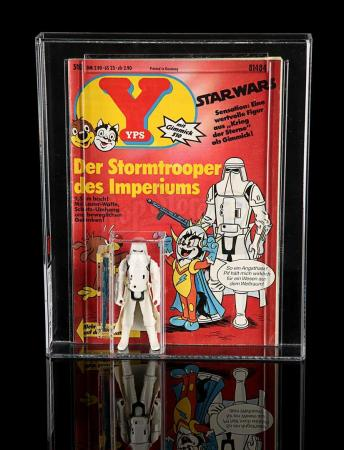 Lot # 111 - YPS Comic With Hoth Stormtrooper UKG 80