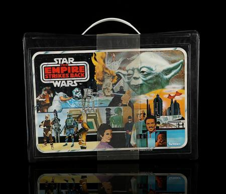 Lot # 113 - Vinyl Figure Carry Case - Sealed