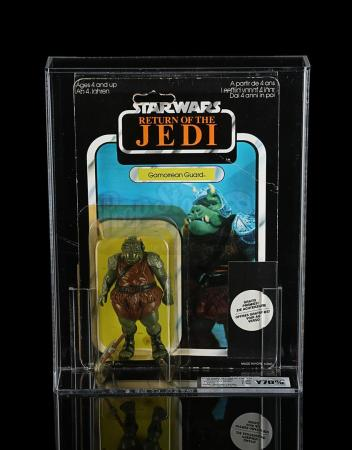 Lot # 116 - Gamorrean Guard (with Clipper Offer) ROTJ65 UKG Y70