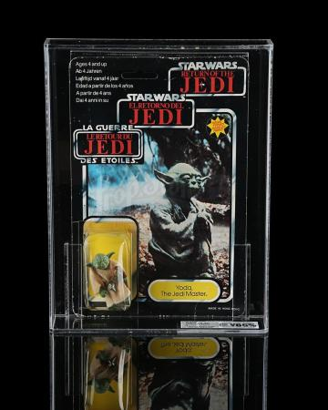 Lot # 122 - Yoda The Jedi Master Tri-Logo 70B UKG Y65
