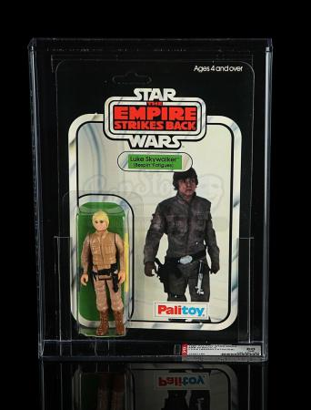 Lot # 140 - Luke Skywalker (Bespin Fatigues) ESB30A AFA 80