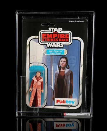 Lot # 141 - Princess Leia (Bespin Gown) ESB 30 Back-B AFA 75