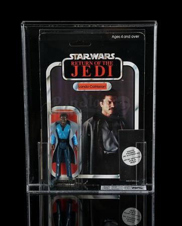 Lot # 143 - Lando Calrissian (with Clipper Offer) ROTJ45 UKG 70