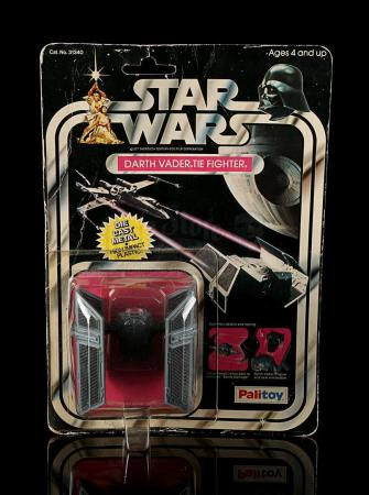 Lot # 158 - Diecast Darth Vader TIE Fighter