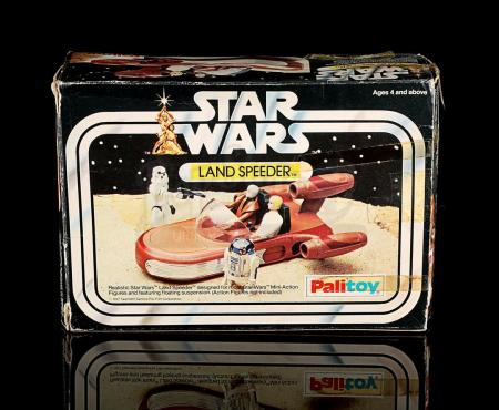Lot # 167 - Palitoy Land Speeder