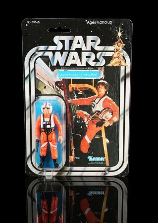 Lot # 181 - Luke Skywalker X-Wing Pilot SW21A