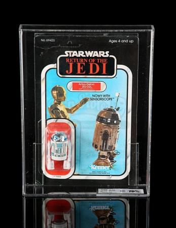 Lot # 192 - R2-D2 (with Sensor Scope) ROTJ65B UKG 70