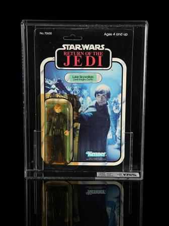 Lot # 194 - Luke Skywalker (Jedi Knight Outfit) ROTJ77A UKG Y75