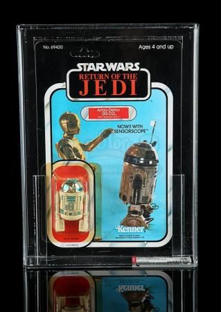 Lot # 199 - R2-D2 (with Sensorscope) ROTJ77A AFA 85