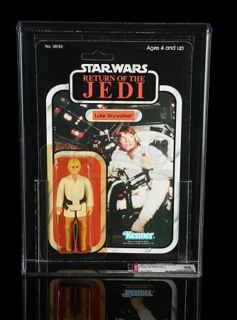 Lot # 201 - Luke Skywalker ROTJ 77A AFA 85