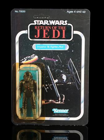 Lot # 203 - Imperial TIE Fighter Pilot ROTJ65B