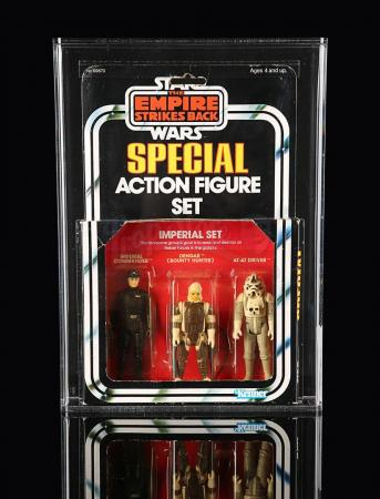 Lot # 237 - Imperial Set ESB Series 2 3-pack AFA 75+