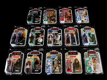 Lot # 577 - Vintage Collection Figures