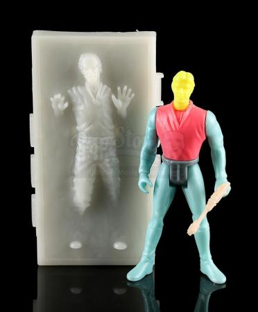 Lot # 590 - Prototype Han Solo in Carbonite