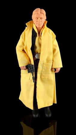 Lot # 598 - Prototype Han Solo (Trenchcoat) Large Size Action Figure
