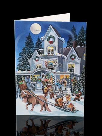 Lot # 696 - 1985 Lucasfilm Cast & Crew Christmas Card