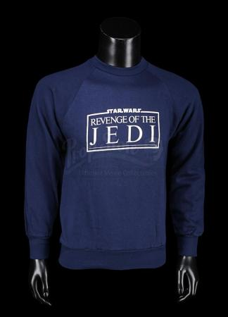 Lot # 700 - Revenge of the Jedi Crew Blue Sweatshirt