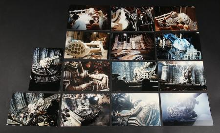 Lot # 14 - Alien & Aliens Collection Auction - Behind the Scenes Photos of the Space Jockey