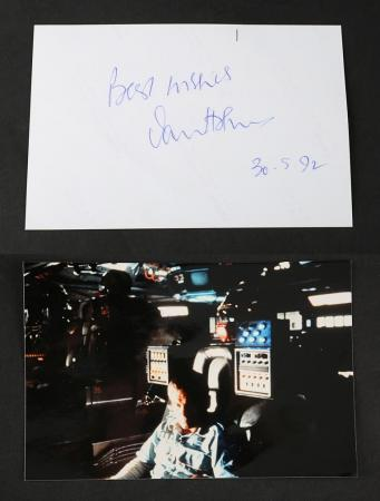 Lot # 19 - Alien & Aliens Collection Auction - Ian Holm Autographed 6x4 Photo