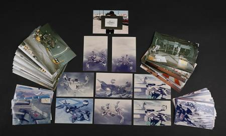 Lot # 108 - Alien & Aliens Collection Auction - Colour Photos of the Dropship and Landing Bay