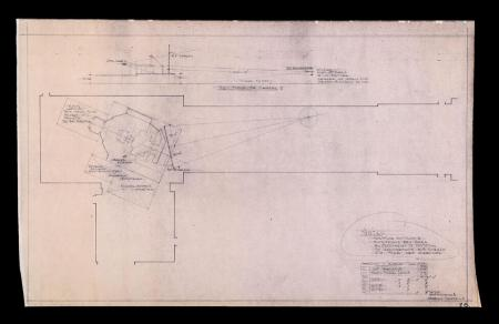 Lot # 97 - Alien & Aliens Collection Auction - Narcissus Internal Detail 'Floor Plan & Stage Detail' Production Dyeline