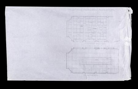 Lot # 99 - Alien & Aliens Collection Auction - Medical Bay Internal 'Operating Theatre' Original Hand Drawn Production Design Artwork