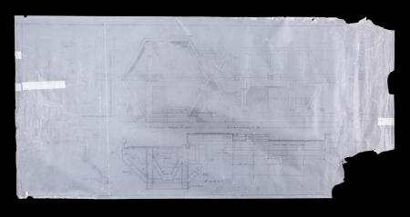 Lot # 117 - Alien & Aliens Collection Auction - External Colony Buildings Original Hand Drawn Production Design Artwork