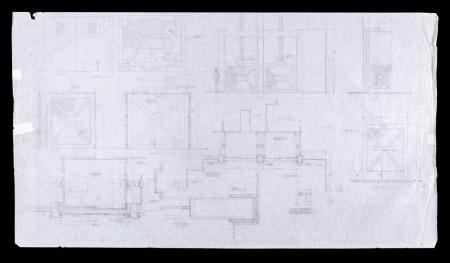Lot # 129 - Alien & Aliens Collection Auction - Refinery Lift Detail Original Hand Drawn Production Design Artwork