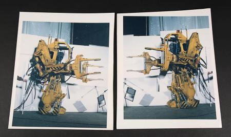 Lot # 135 - Alien & Aliens Collection Auction - Set of Two Lighting Test Images of the Power Loader