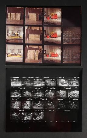 Lot # 138 - Alien & Aliens Collection Auction - Two Contact Sheets Showing Full