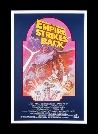 Lot #22 - STAR WARS: THE EMPIRE STRIKES BACK (1980) - US One-Sheet Poster, 1982 Re-Release