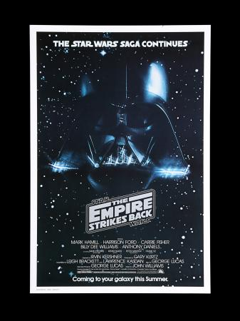 Lot #23 - STAR WARS: THE EMPIRE STRIKES BACK (1980) - US One-Sheet Advance Poster, 1980