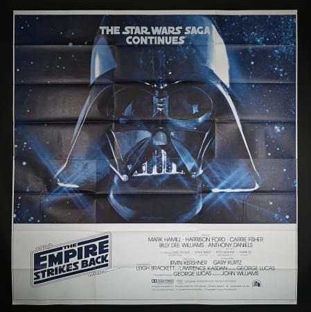 Lot #24 - STAR WARS: THE EMPIRE STRIKES BACK (1980) - US / International Advance Six Sheet, 1980