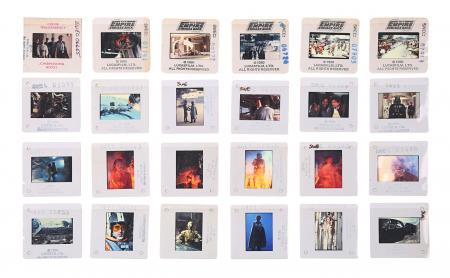 Lot #26 - STAR WARS: THE EMPIRE STRIKES BACK (1980) - 24 Photographic Slides (1979-80)