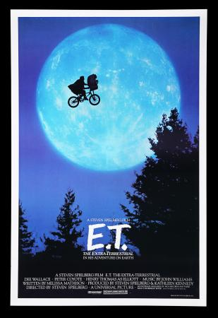 Lot #70 - E.T. THE EXTRA TERRESTRIAL (1982) - Richard Edlund Collection: US One-Sheet Poster, 1982
