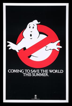 "Lot #71 - GHOSTBUSTERS (1984) - Richard Edlund Collection: US One-Sheet Poster - Teaser ""Summer"" Style, 1984"