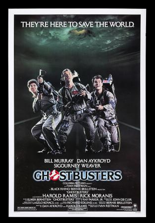 Lot #72 - GHOSTBUSTERS (1984) - Richard Edlund Collection: US One-Sheet Poster, 1984