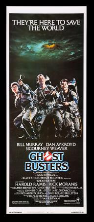Lot #73 - GHOSTBUSTERS (1984) - Richard Edlund Collection: US Insert Poster, 1984