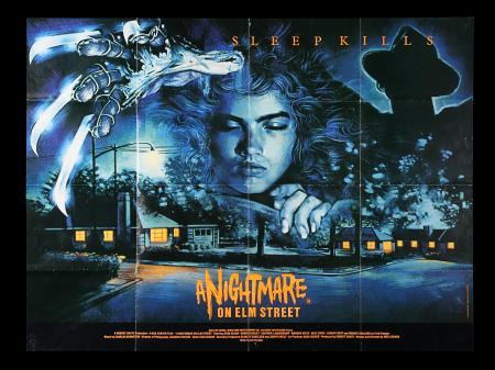 Lot #85 - A NIGHTMARE ON ELM STREET (1984) - UK Quad Poster, 1984