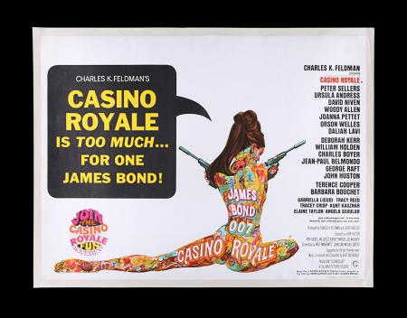 Lot #147 - CASINO ROYALE (1967) - UK Quad Poster, 1967