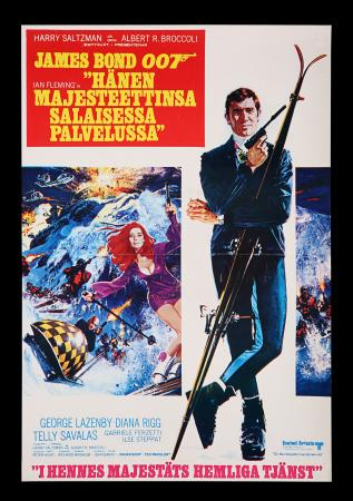 Lot #149 - ON HER MAJESTY'S SECRET SERVICE (1969) - Finnish Poster, 1969