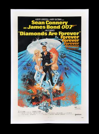 Lot #150 - DIAMONDS ARE FOREVER (1971) - US One-Sheet Poster, 1971