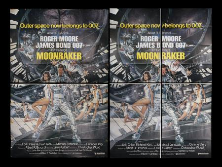 Lot #157 - MOONRAKER (1979) - Two British Billboard Posters, 1979
