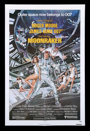 Lot #158 - MOONRAKER (1979) - US One-Sheet Poster, 1979