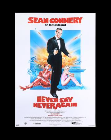 Lot #161 - NEVER SAY NEVER AGAIN (1983) - Swedish Poster, 1983