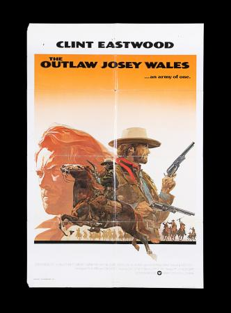Lot #180 - THE OUTLAW JOSEY WALES (1976) - US / International One-Sheet Poster, 1976