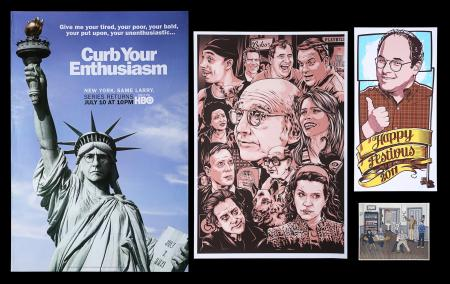 Lot #194 - CURB YOUR ENTHUSIASM (TV SERIES 2010-) - Four Posters, 2010-12