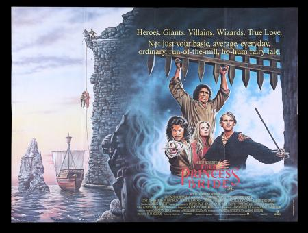 Lot #203 - PRINCESS BRIDE (1987) - UK Quad Poster, 1987